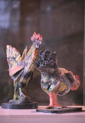 Maquettes for Cockerel and for Hen