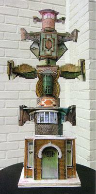 Urban Totem  Maquette