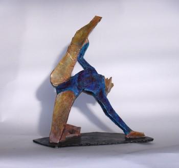 gymnast maquette