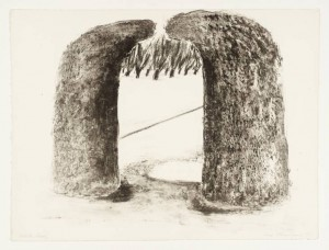 Arch I 1971 by Ivor Abrahams born 1935