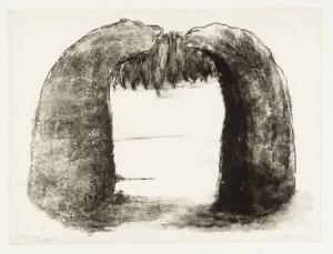 Arch II 1971 by Ivor Abrahams born 1935