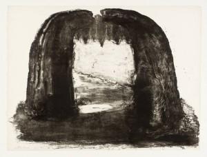 Arch III 1971 by Ivor Abrahams born 1935