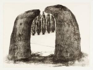 Arch IV 1971 by Ivor Abrahams born 1935