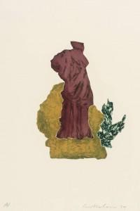 Femme du Midi II 1979 by Ivor Abrahams born 1935