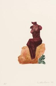 Femme du Midi III 1979 by Ivor Abrahams born 1935