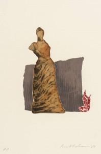 Femme du Midi IV 1979 by Ivor Abrahams born 1935
