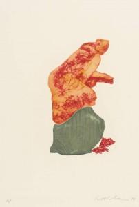 Femme du Midi VI 1979 by Ivor Abrahams born 1935
