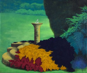 Sundial I (Summer) 1975 by Ivor Abrahams born 1935