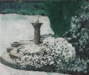 Winter Sundial 1975 by Ivor Abrahams born 1935