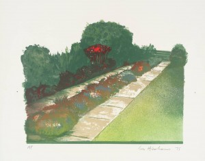 Pathways V 1975 by Ivor Abrahams born 1935