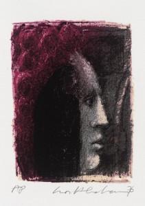 Morella 1976 by Ivor Abrahams born 1935