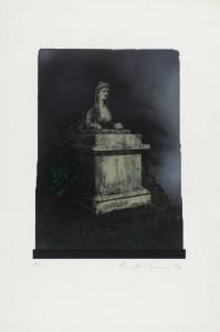 The Sphinx 1978 by Ivor Abrahams born 1935