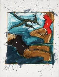 Baigneuses 1983 by Ivor Abrahams born 1935