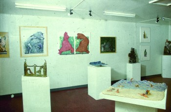 Exhibition at Yorkshire Sculpture Park, 1984